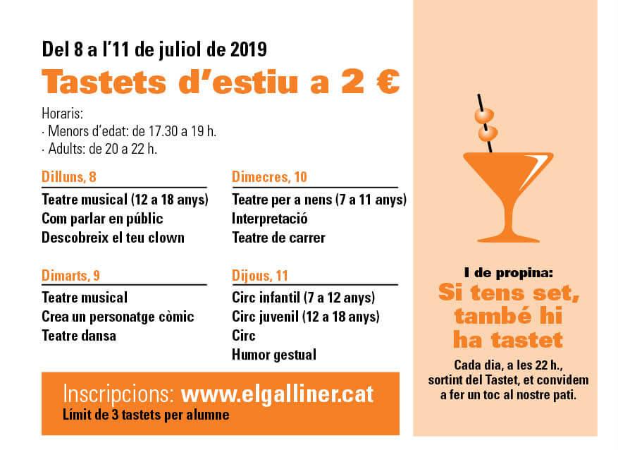 Tastets 19 El Galliner