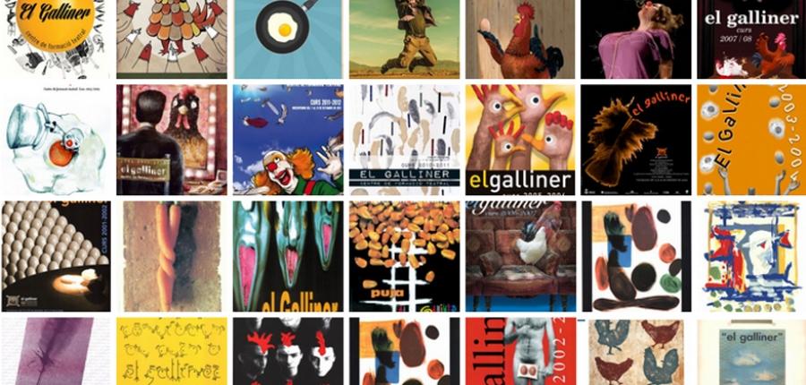 Vols ser l'autor del cartell d'El Galliner ? El Galliner