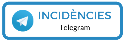 Telegram - Incidències